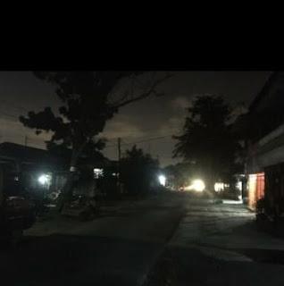 Warga Pulo Brayan Mengeluh, LPJU Baru Dibuat Sejumlah Lampu Sudah Padam