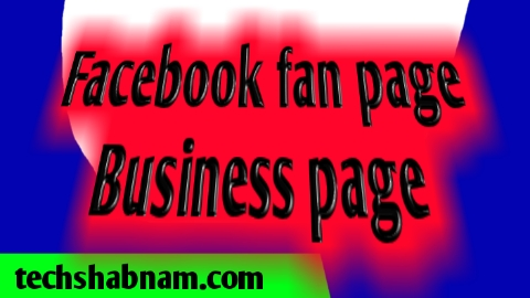 Facebook business page and fan page create