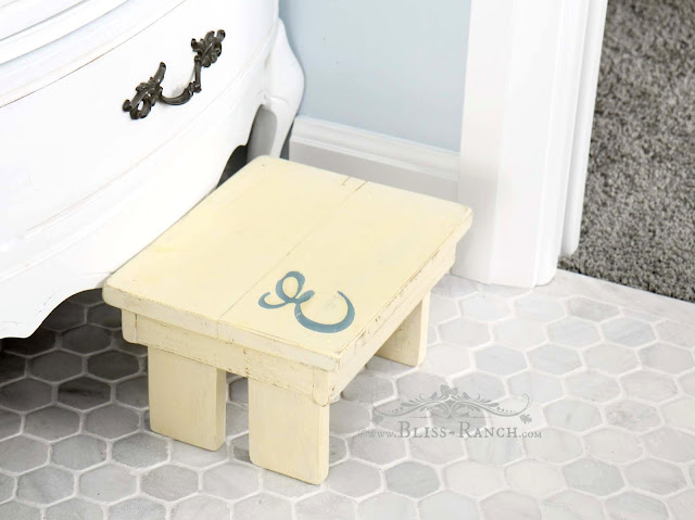 Jack & Jill Bathroom Kids Step Stool with Graphic, Bliss-Ranch.com