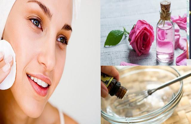 La combinaison de l'eau de rose et de la glycérine fait des miracles sur votre peau