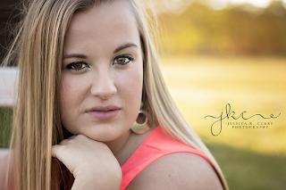 Senior Photography, Asheboro, NC Jessica K. Curry Photography
