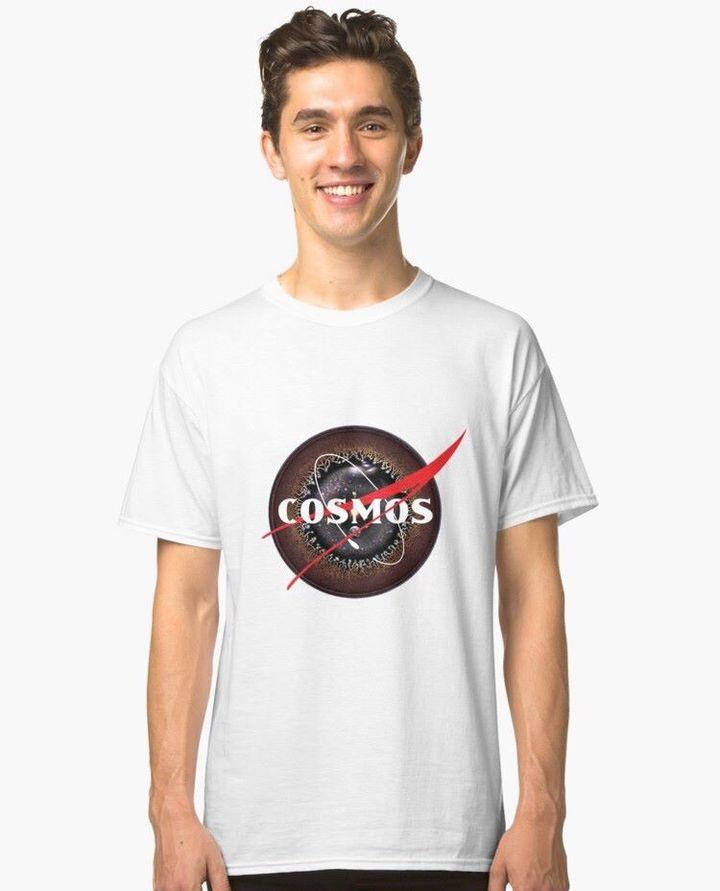 COSMOS variation of NASA logo