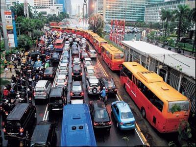 Pengurangan ketergantungan terhadap kendaraan pribadi