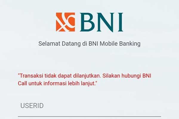 BNI Mobile Banking Tidak Bisa Login Dengan Fingerprint