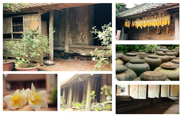 Admire the beauty of intact heritage in the ancient village of Duong Lam