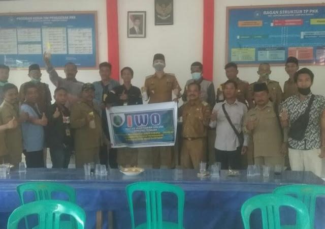 IWO Lampung Tengah Menunjukan Kepeduliannya Terhadap Wabah Virus Corona