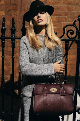 Mulberry Fall/Winter 2015 Campaign featuring Georgia May Jagger