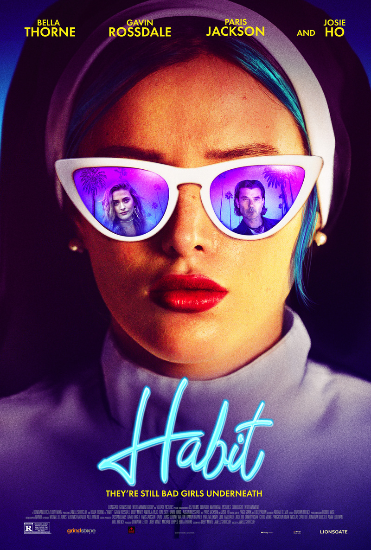 habit bella thorne poster