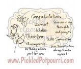 Rose Sentiments Digital Stamps