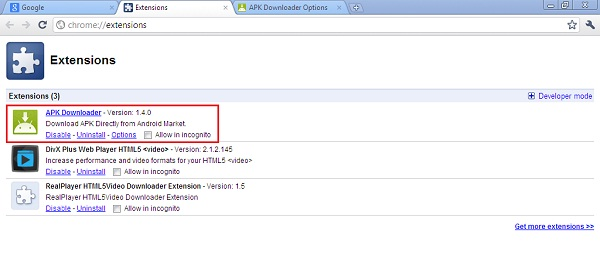 Chrome Download File Extension Apk