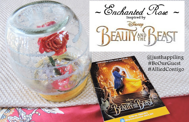 Beauty And The Beast Inspired Diy Enchanted Rose Just Happiling