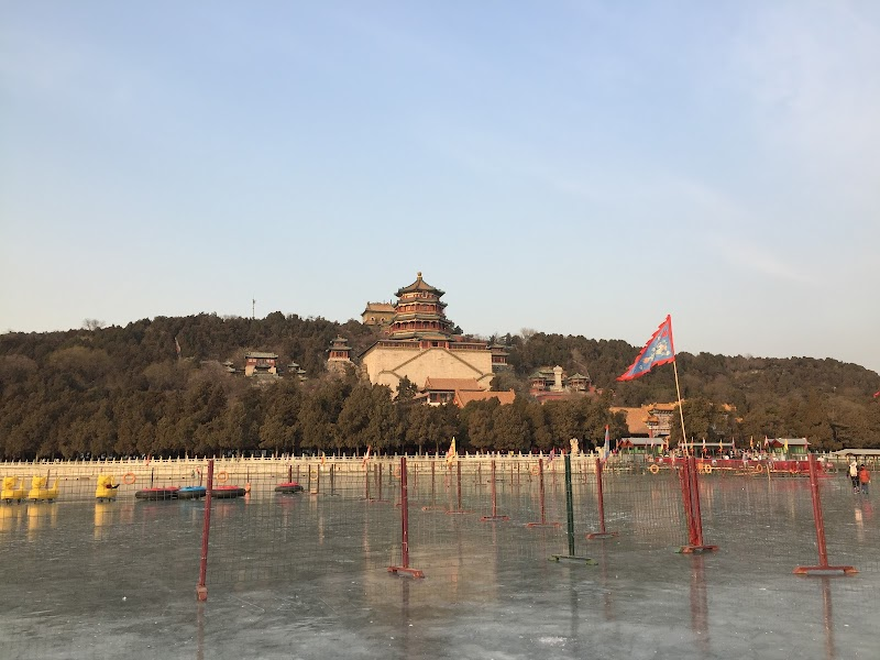 Winter in Summer Palace, Beijing.