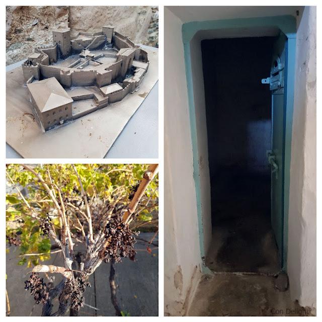מצודת הפטפירגיו סלוניקי, תא בידוד, עץ ומודל