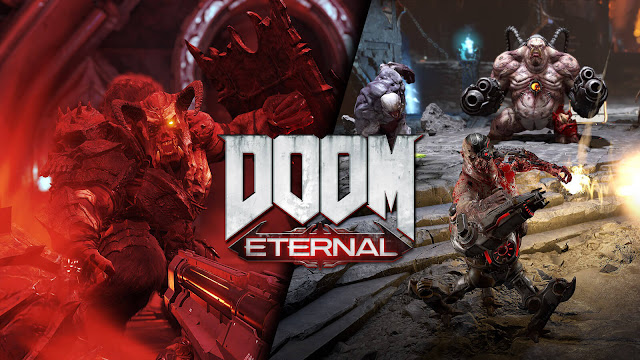 doom eternal multiplayer invasion mode cancelled horde mode update 2020 first-person shooter game id software bethesda steam pc ps4 ps5 stadia xb1 xsx