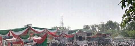 Just In: Atiku Locks down Kaduna City for rally