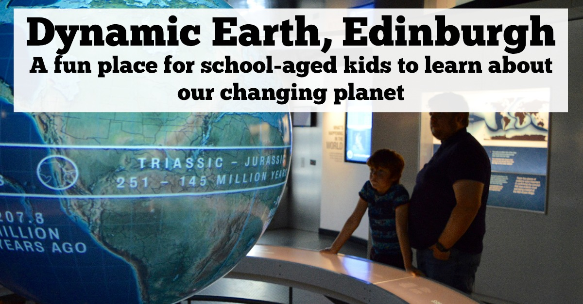 Visiting Dynamic Earth Edinburgh with kids | A review