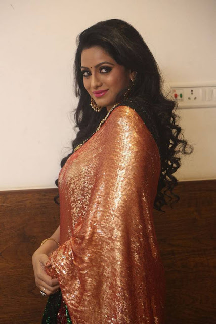 Udaya Bhanu Stills At Gautham Nanda Movie Audio Launch
