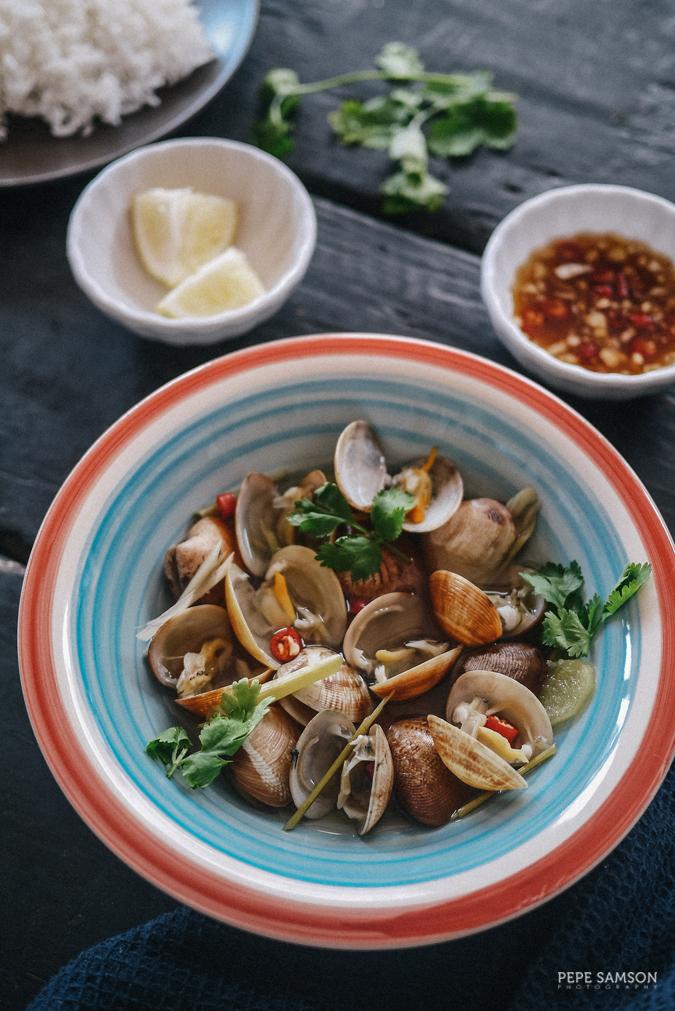 Travel Through Food: Vietnamese Clams in Lemongrass Broth