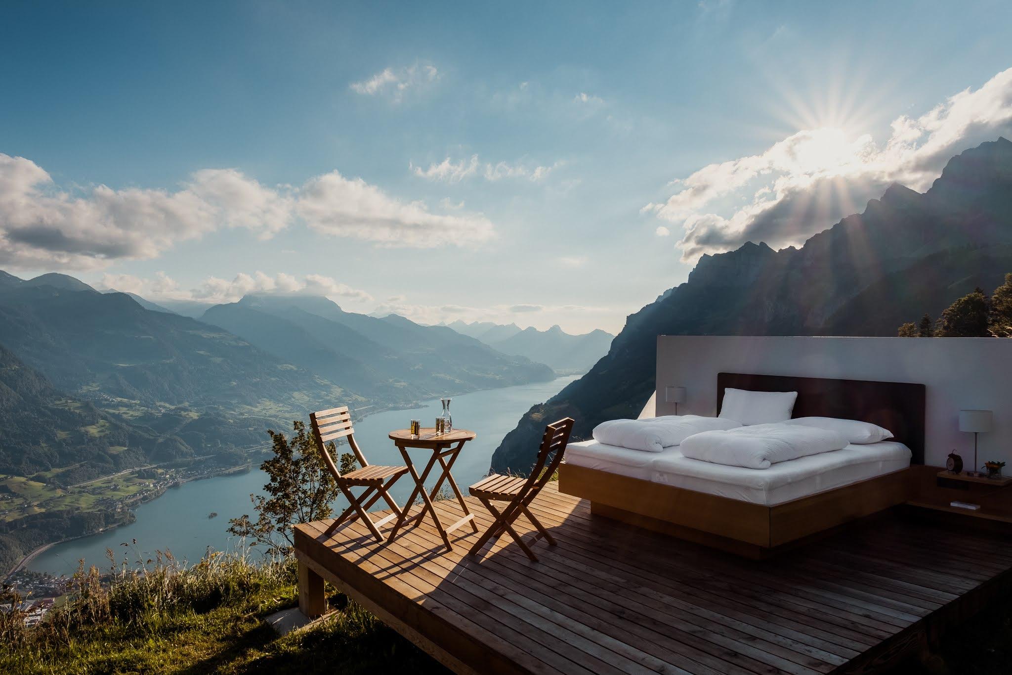Hotel na natureza