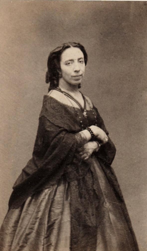 Pauline Viadot, la soprano más famosa del siglo XIX. De origen español, está considerada la Callas de la época.