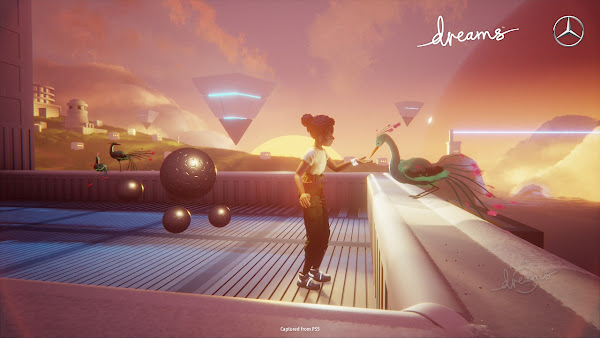 Dreams™: Media Molecule anuncia colaboração com Mercedes-Benz