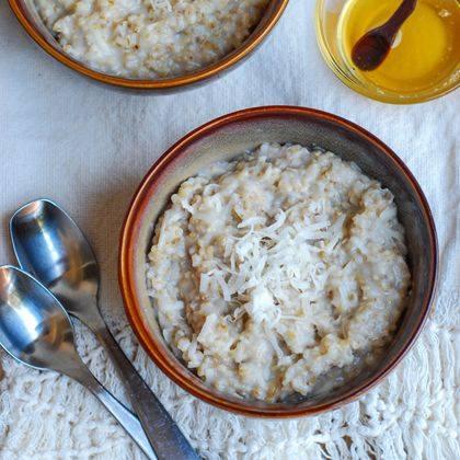 Honey Coconut Oatmeal
