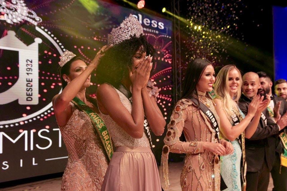 Adryelhe Peixoto é coroada Miss Brasil 2018. Foto: Rubens Apolinário
