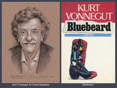 Kurt Vonnegut. Bluebeard. Kurt Vonnegut Museum & Library. by Travis Simpkins