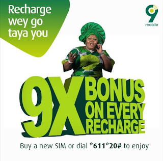 How to activate 9X Bonus on Every Recharges
