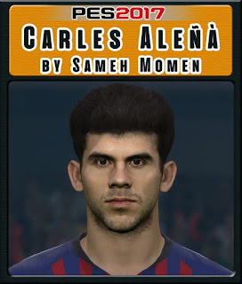 PES 2017 Faces Carles Aleñá by Sameh Momen
