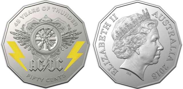 AC/DC: Η Αυστραλία τους τιμά με συλλεκτικά νομίσματα