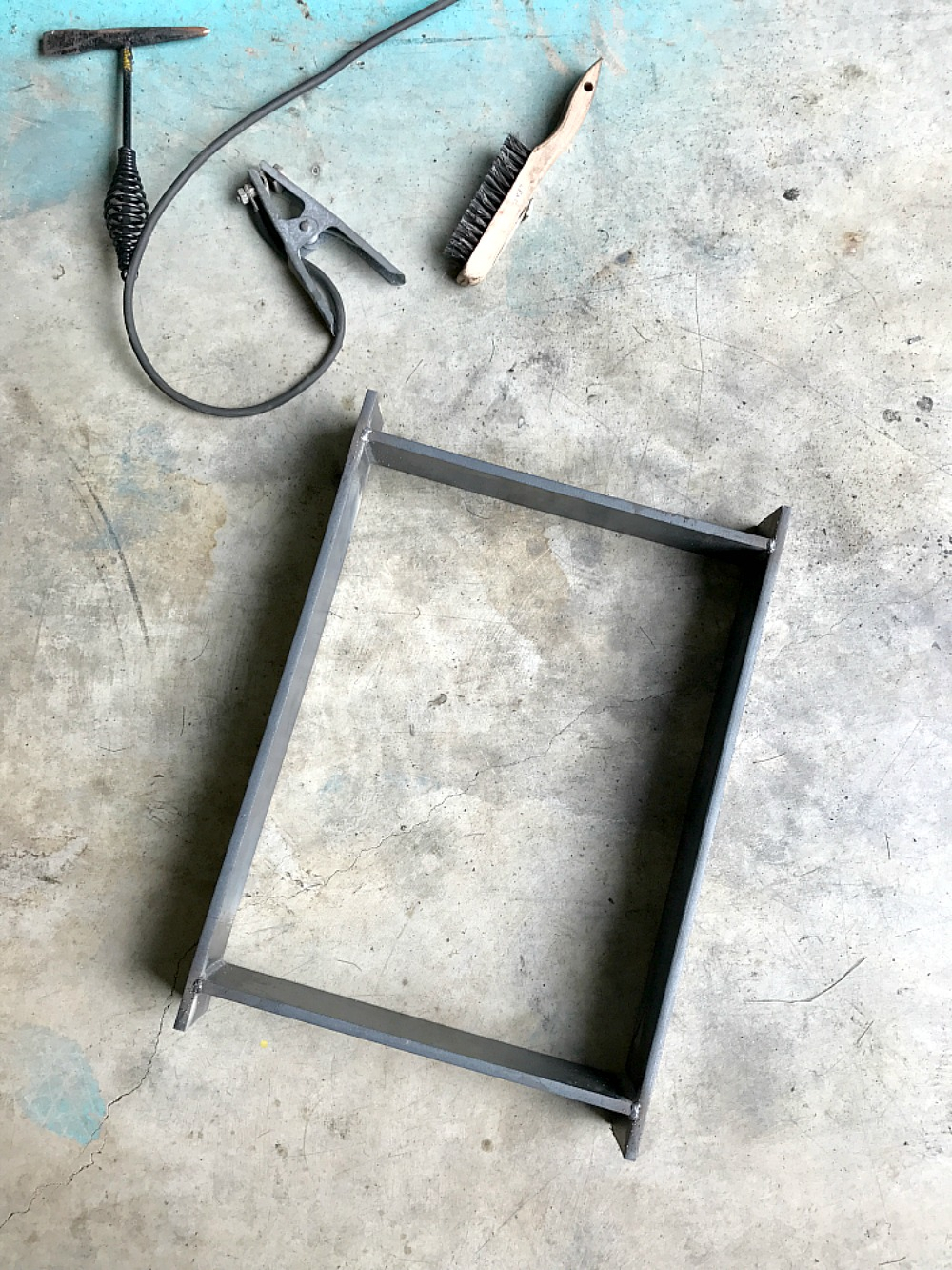 How to Weld Bench Legs