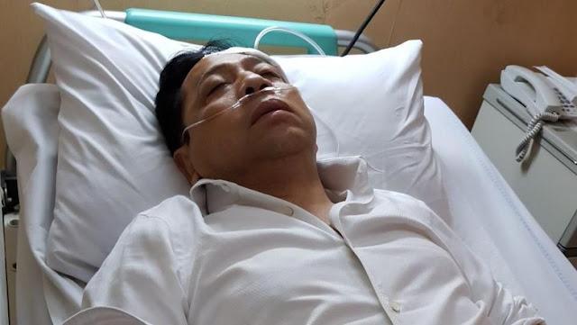 Terbaring di RS, Novanto Pingsan atau Tidur?