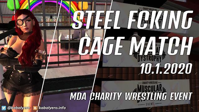 Allira Kytori vs Samantha Foxy! MDA Charity Wrestling Event 2020 [Second Life Wrestling]