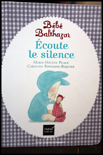 bébé balthazar ecoute le silence