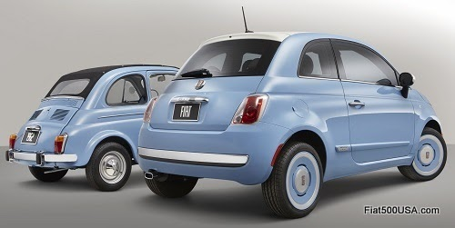 "Fiat 500 ""1957 Edition"" with Nuova 500"