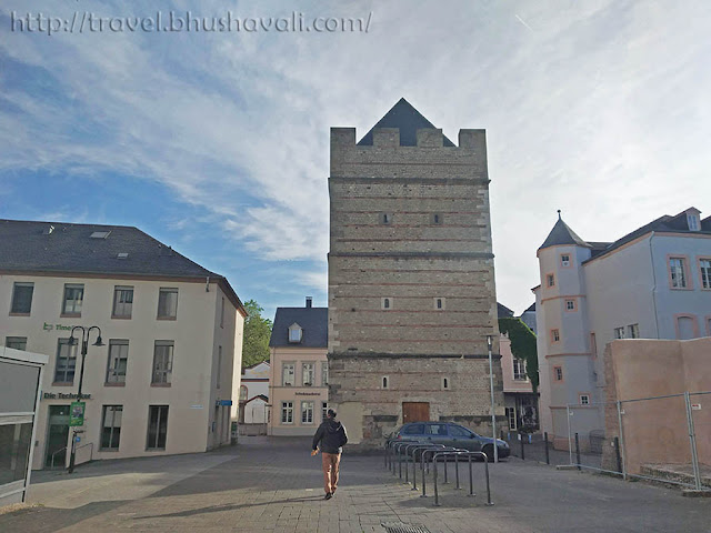 Frankenturm Roman Monuments in Trier