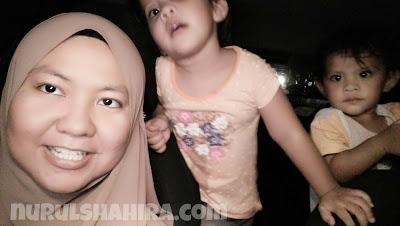 Khayra - Sarah dah pandai selfie