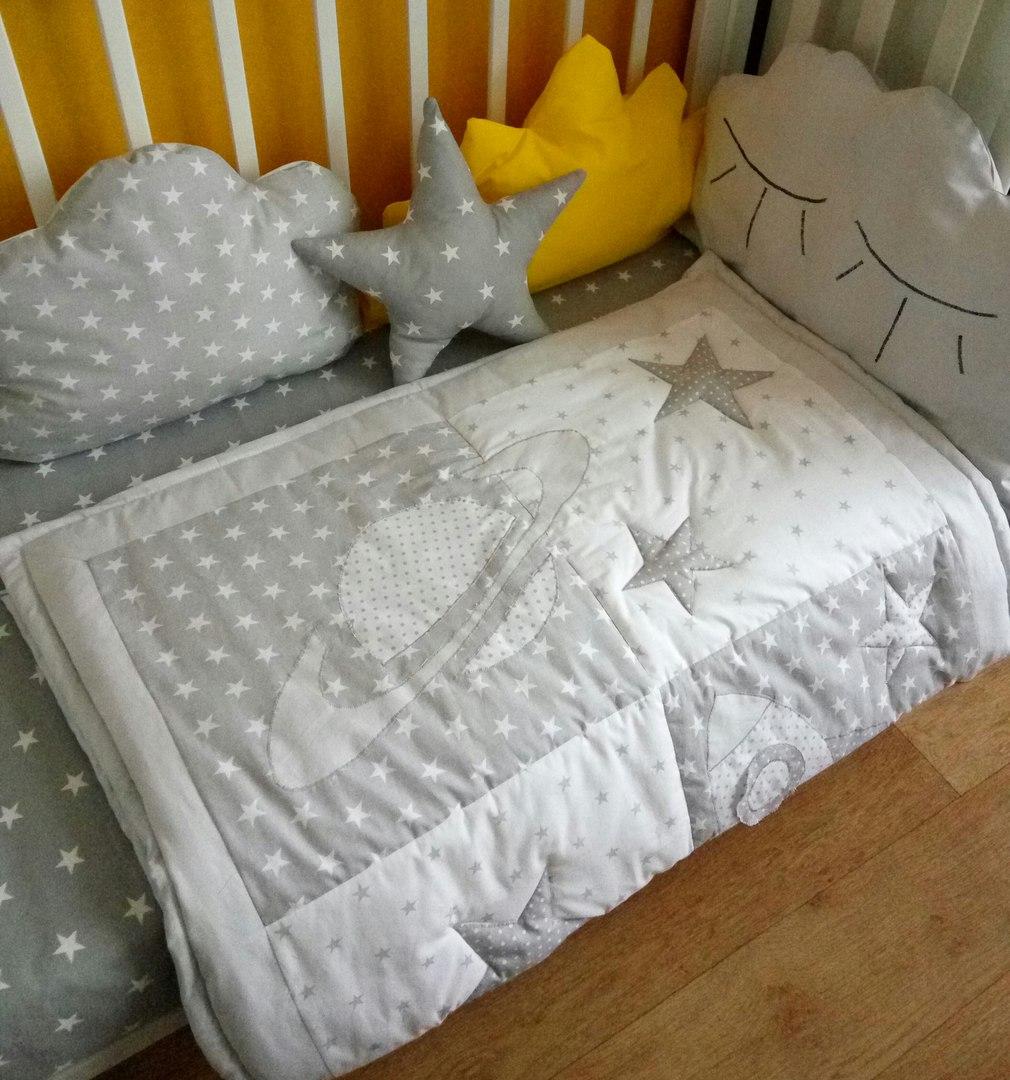 Как сшить постельный комплект в детскую кроватку фото 676