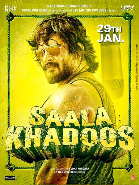 Saala Khadoos (2016) Movie Poster