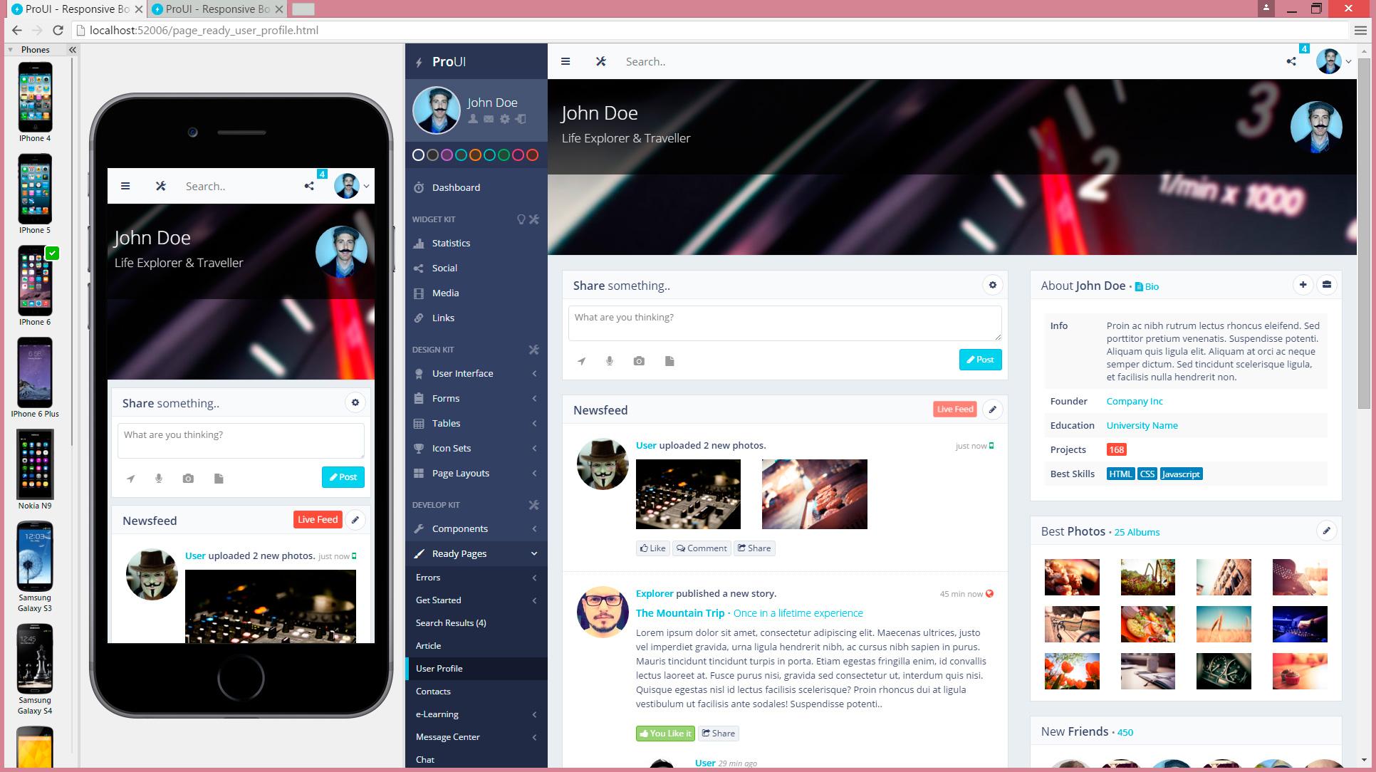 navegador web para programadores blisk