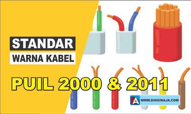Standar Warna Kabel Instalasi Listrik PUIL 2000 dan 2011
