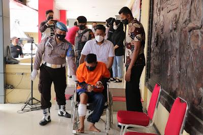 Penjahat Lintas Provinsi, AY dan HB di Dor Resmob Polres Ponorogo