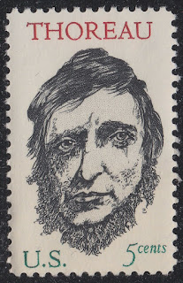 Henry David Thoreau 5c single