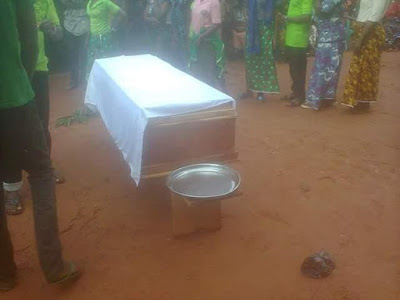 Image result for Gunmen Shoot Lady Dead In Benue (Graphic Photo)