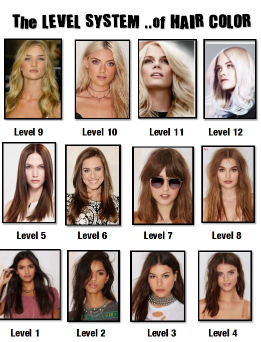 Hair Color Level 7 Of Hair Color Level 7 | dagpress.com