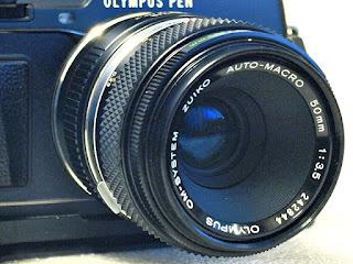 Zuiko OM 50mm F3.5 Macro