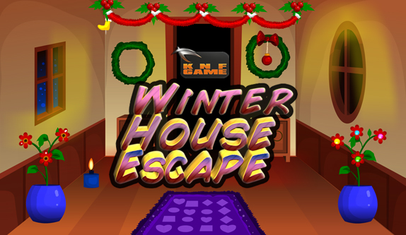 KnfGame Winter House Escape Walkthrough