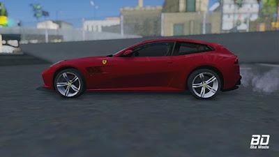 Download mod carro Ferrari GTC4 Lusso para GTA San Andreas , GTA SA PC
