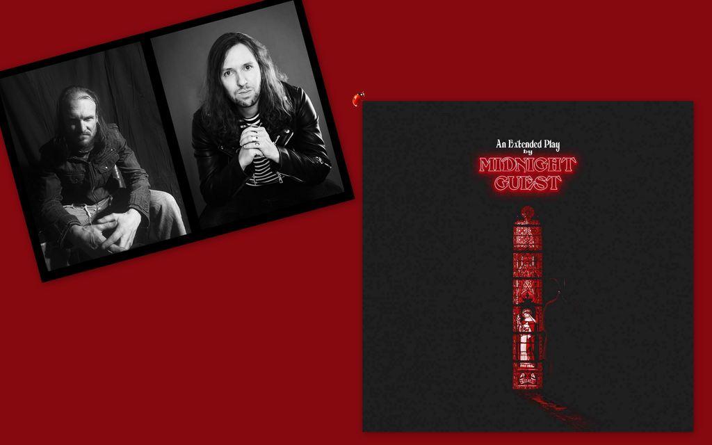 """Como uma ponte entre o presente e o passado, Midnight Guest sintoniza o heavy rock e occult rock dos anos 70 com um olhar moderno em seu EP de estreia. O projeto criado em 2020 pelo guitarrista Daniel Stunges se une ao vocal de Kjetil Landsgard, direto do Canadá, e aos músicos Tadeu Correa na bateria e Eduardo Oliveira no baixo. O álbum chega às plataformas de streaming acompanhado do clipe para a faixa """"Hellfire (Do What Thou Wilt)""""."""